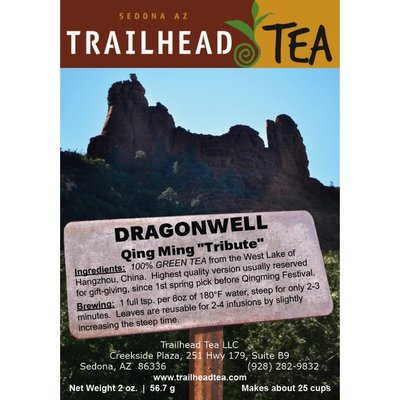 Tea from China Dragonwell Qing Ming - SORRY SOLD OUT