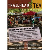 Herbal from South Africa Green Rooibos Fruit Stand