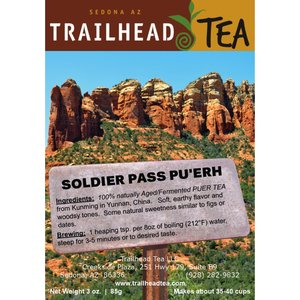 Tea from China Soldier Pass Puer