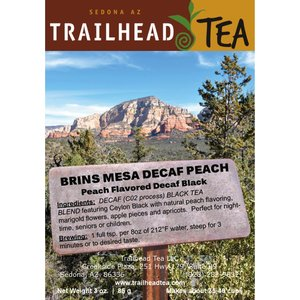 Tea from Sri Lanka Brins Mesa Decaf Peach