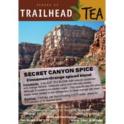 Tea from China SECRET CANYON SPICE from Trailhead Tea, Sedona Arizona's Full-Leaf Tea Department Store