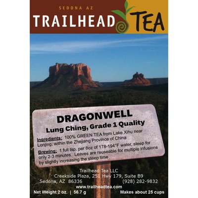 Tea from China Dragonwell/Lung Ching