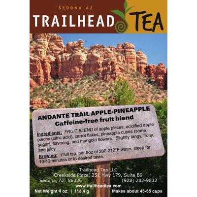 Herbal Blends Andante Trail Apple-Pineapple