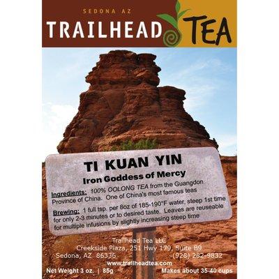 Tea from China Goddess of Mercy/Ti Kuan Yin
