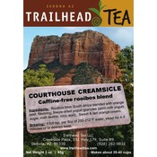 Herbal from South Africa Courthouse Creamsicle from Trailhead Tea, Sedona Arizona's Full-Leaf Tea Department Store