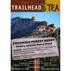 Tea from Sri Lanka Coconino Forest Berry