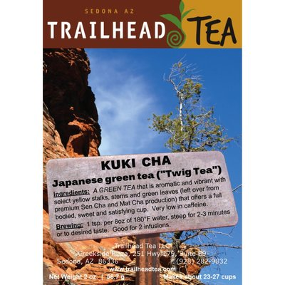 Tea from Japan Kuki Cha - SORRY SOLD OUT