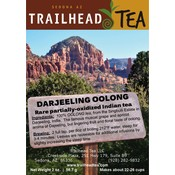 Tea from India Darjeeling Oolong