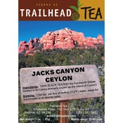 Tea from Sri Lanka Jacks Canyon Ceylon