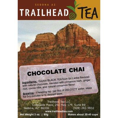 Tea from Sri Lanka Chocolate Chai