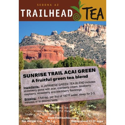 Tea from Japan Sunrise Trail Acai Berry Green