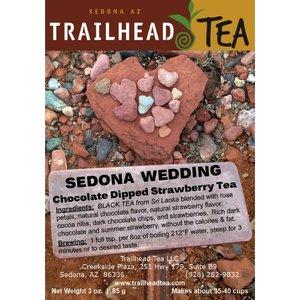Tea from Sri Lanka SEDONA WEDDING (chocolate dipped strawberry)
