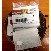Teaware Make-It-Yourself Tea Bags (20 pack) with tag