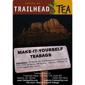 Teaware Make-It-Yourself Tea Bags (100 pack) with tag