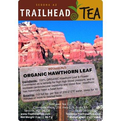 Botanical Botanical Organic Hawthorn Leaf & Flower