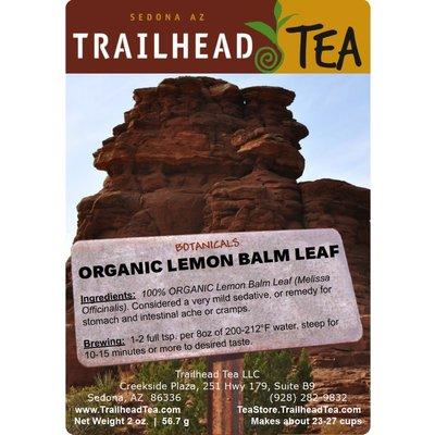Botanical Botanical Organic Lemon Balm Leaf