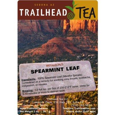 Botanical Botanical Organic Spearmint Leaf