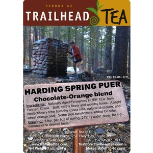 Tea from China Harding Spring Chocolate Orange Puer