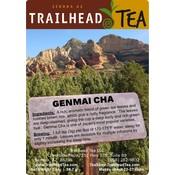 Tea from Japan GenmaiCha (Rice Flavored) Green Tea from Trailhead Tea, Sedona Arizona's Full-Leaf Tea Department Store