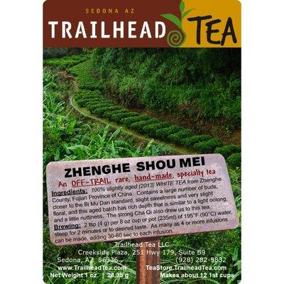 Off-Trail-Rare Aged Shou Mei Zhenghe White (Off-Trail White)