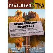 Tea Blended Decaf English Breakfast
