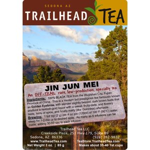 Off-Trail-Rare Jin Jun Mei, Golden Eyebrow (Off-Trail Black)