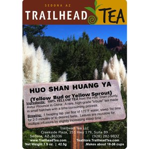 Off-Trail-Rare Huo Shan Huang Ya, Supreme Yellow Buds