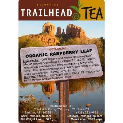 Botanical Botanical Organic Raspberry Leaf