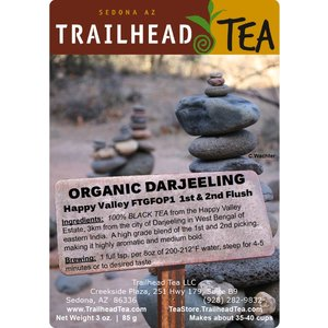 Tea from India Darjeeling FTGFOP1 Happy Valley FF/SF (Organic)