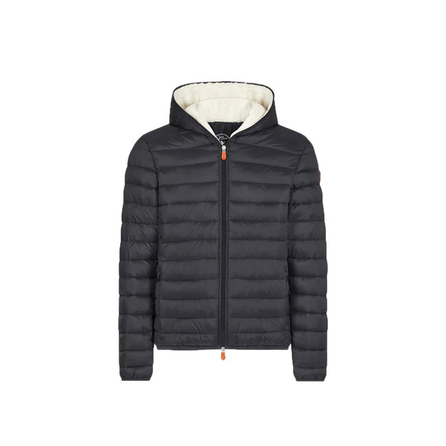 Save the Duck Save The Duck Men's Giga Sherpa Hooded Jacket