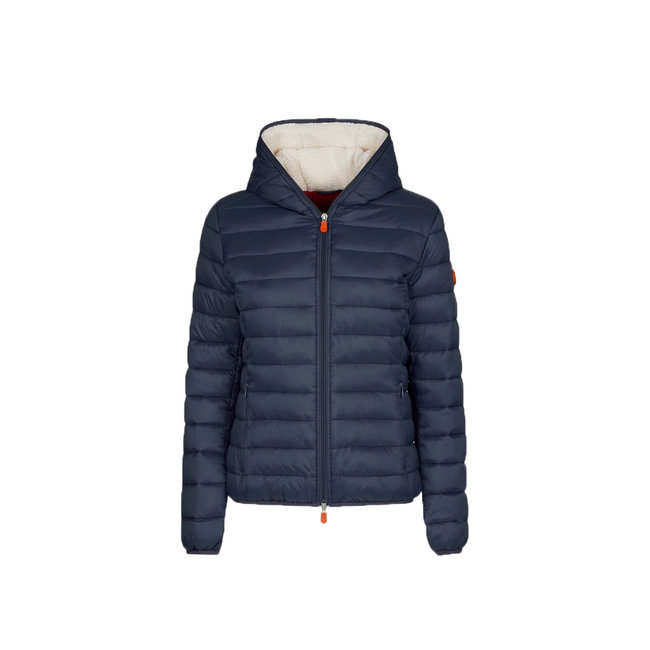 Save the Duck Save the Duck Women's Giga Sherpa Hooded Jacket