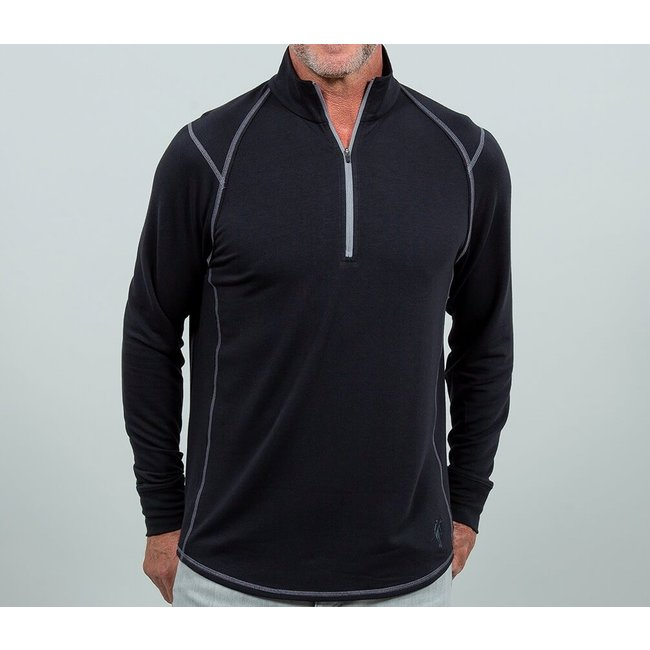 Toes on the Nose Toes on the Nose Barrel Performance Seasilk 1/4 Zip Men's