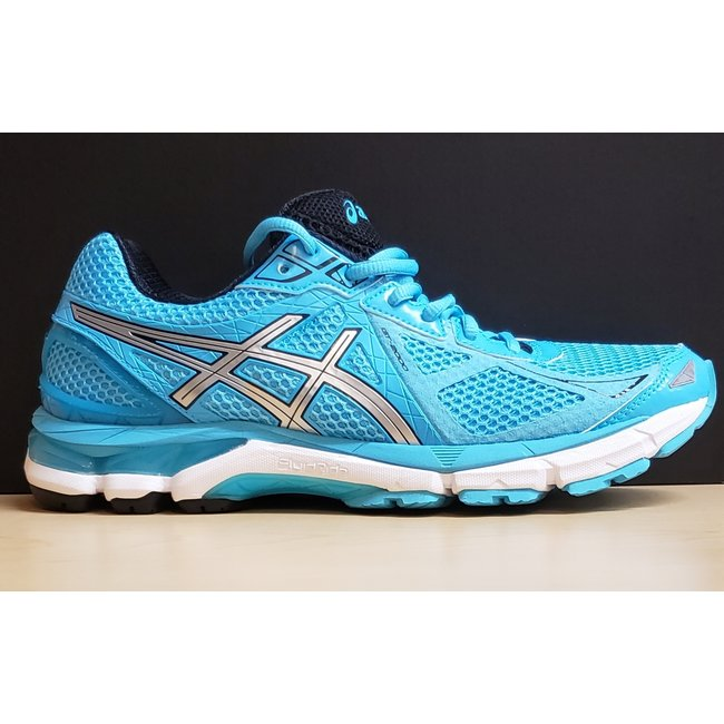 Asics GT-2000, Size 10, Turquoise/Silver/Black