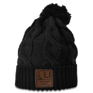 Support Local Lighthouse Patch Beanies