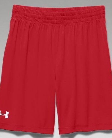 Boy's Under Armour Golazo Shorts- Red