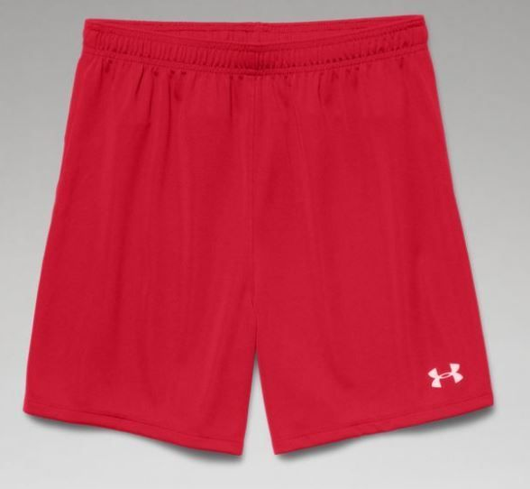 Women's Under Armour Golazo Shorts- Red