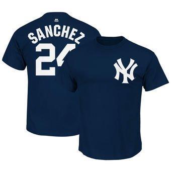 Yankees T-Shirts- Sanchez