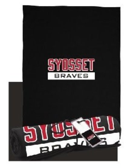 Syosset Braves Sweatshirt Blanket