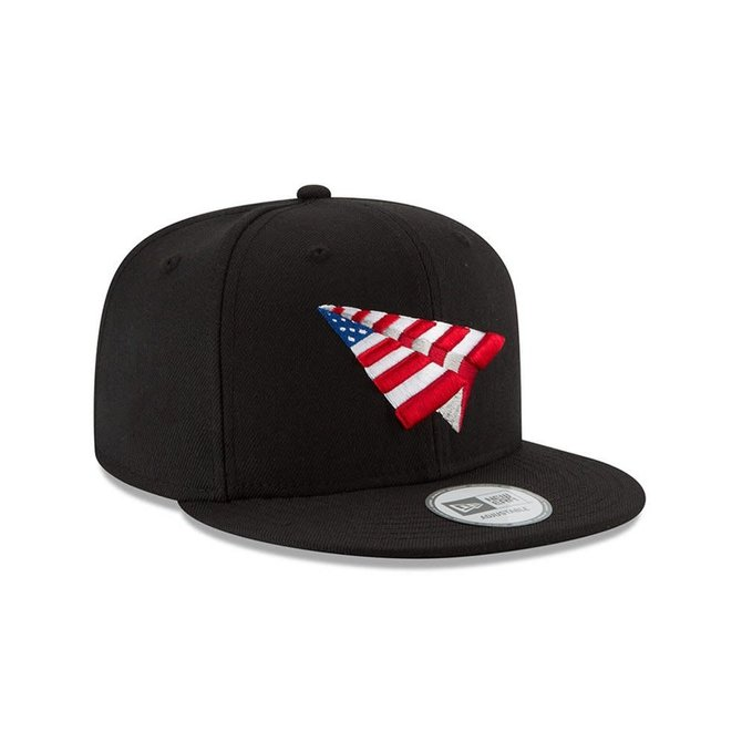 Paper Planes Paper Planes The Crown American Dream Old School Snapback Blk