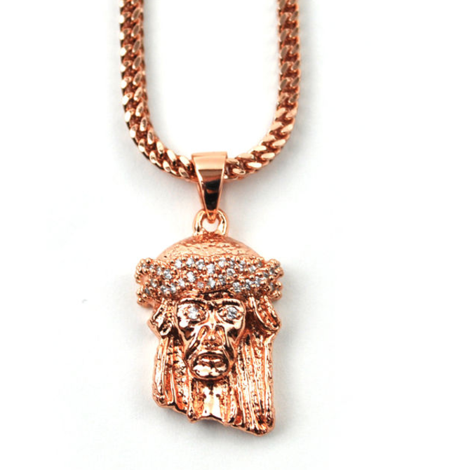 The Gold Gods GoldGods Micro Jesus Rose Gold Edition