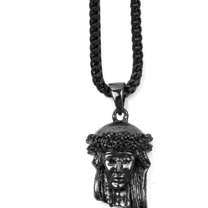 The Gold Gods Goldgods Micro Jesus Rhodium Edition