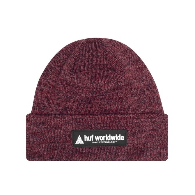 HUF Nystrom Beanie Rose Wood Red