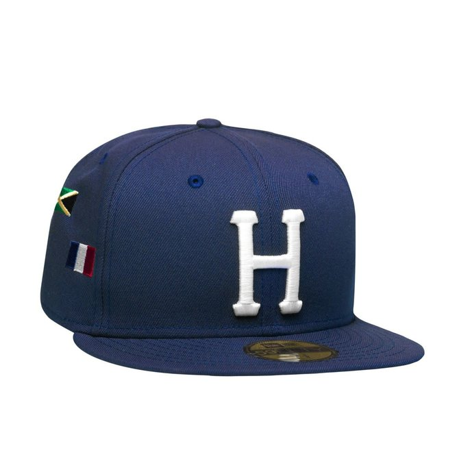 HUF World Tour New Era Fitted