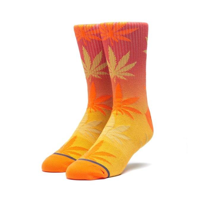HUF Gradient Dye Plantlife Sock Rust