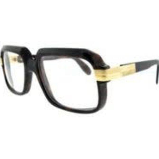 Cazal Eyewear Cazal 607 C.80 Brown Frame/ Clear Lens