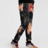 Black Pyramid Tie-Dye Drip Pants