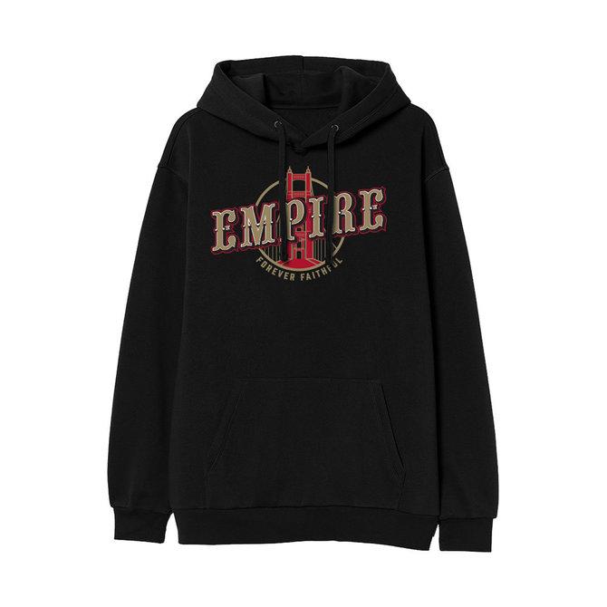 FRESH FRESH Empire Hoodie Black