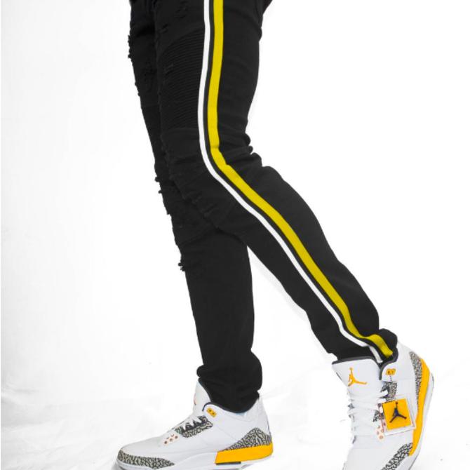 Preme Preme PR-WB-321 Russel Biker Yellow Tape