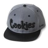 Cookies Cookies Original Mint Twill Snapback Heather Gry/Blk