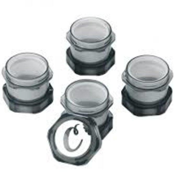 Cookies Cookies V2 Mini Stackable Child Proof Storage Jar Smoke